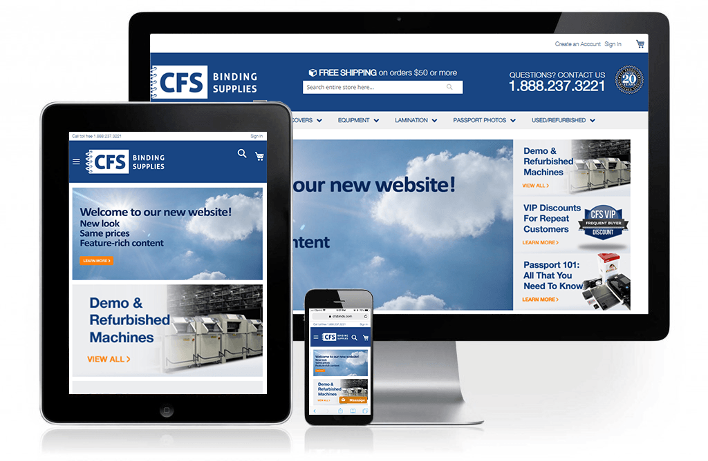 CFS Bindings Web Design and Developement
